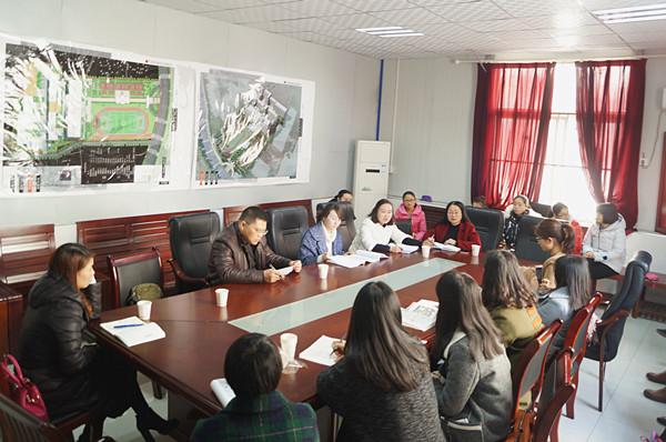 工作室到汉滨江北高级中学进行英语教学交流活动